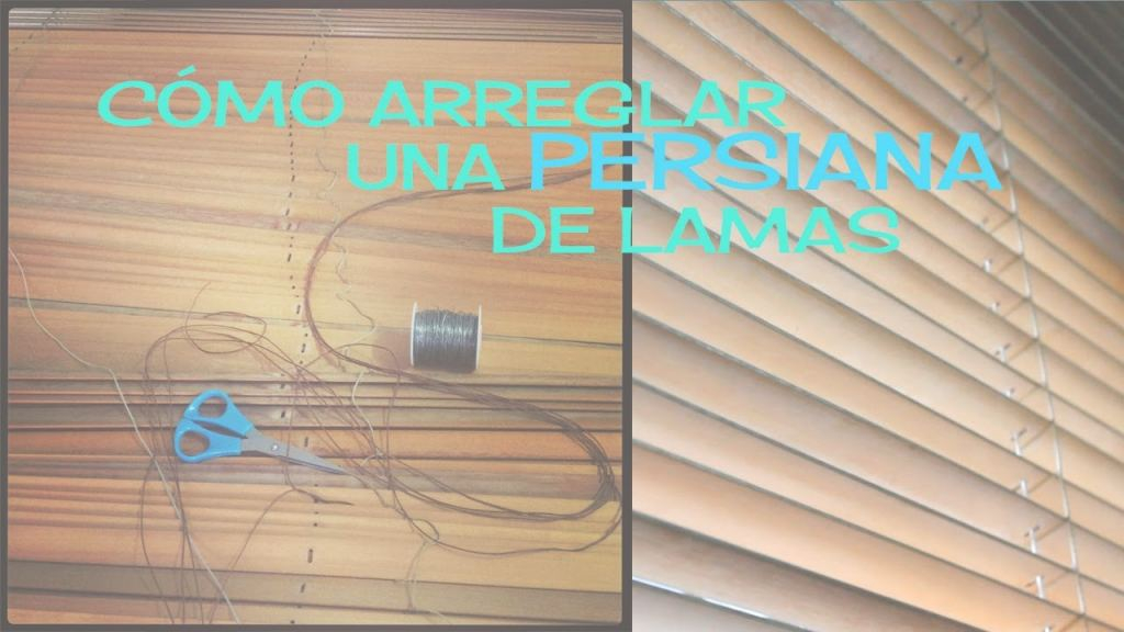 Arreglar Persianas Elegante Como Arreglar Una Persiana . How To Fix A Blind - Youtube