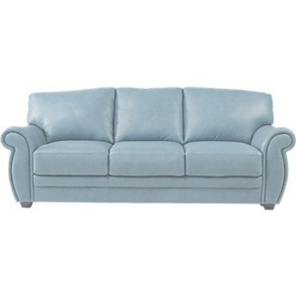 Blue Leather Sofa Genial Martello Blue Leather 5 Pc Living Room | Furniture For Ga