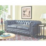 Blue Leather Sofa Mejor De Shop Durango Rustic Blue Leather Sofa   Free Shipping Today