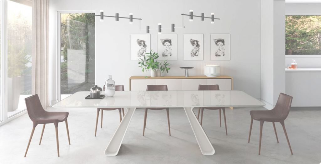 Contemporary Dining Room Furniture Lujo Modern Dining Room Sets For Your Contemporary Home | Modern Digs