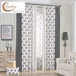 Cortinas Black Out Moderno Byetee] Modern Kitchen Door Luxury Window Curtains Black For Living