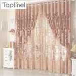 Cortinas Bordado Chino Encantador Cheap Top Finel Bordados Cortinas Transparentes De Lujo Moderno Para