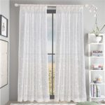 Cortinas Chinas Al Por Mayor Impresionante Compre Coloful Floral Tulle Voile Door Window Cortina Cortina Panel