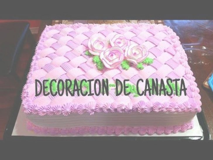 Decoracion Pasteles Tutoría