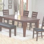 Dining Room Table Sets Inspirador 26 Dining Room Sets (Big And Small) With Bench Seating (2018)