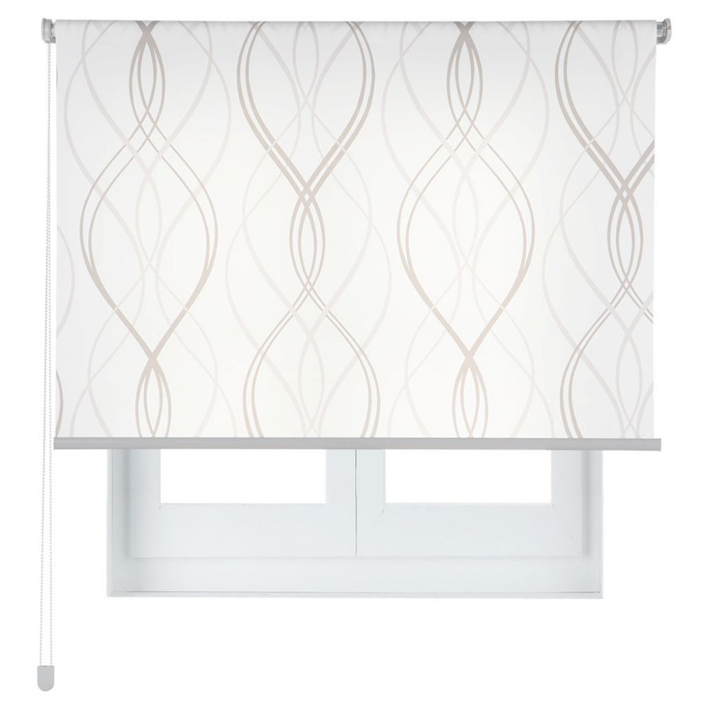 Estores On Line Elegante Estor Enrollable 150 X 250 Cm Geo Line Ref. 17463033 - Leroy Merlin