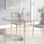 Glass Dining Table Impresionante Willa Arlo Interiors Gosta Round Glass Dining Table | Wayfair