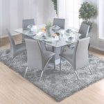 Glass Dining Table Increíble Shop Furniture Of America Ziana Contemporary Rectangular Tempered