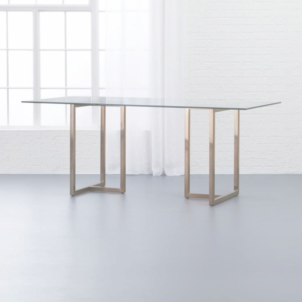 Glass Dining Table Inspirador Glass Dining Tables | Cb2