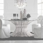 Glass Dining Table Mejor De Oval Silver Leaf Smoked Glass Dining Table Set | Juliettes Interiors