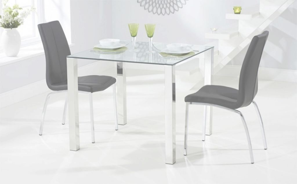 Glass Dining Table Único Glass Dining Table Sets | Great Furniture Trading Company | The