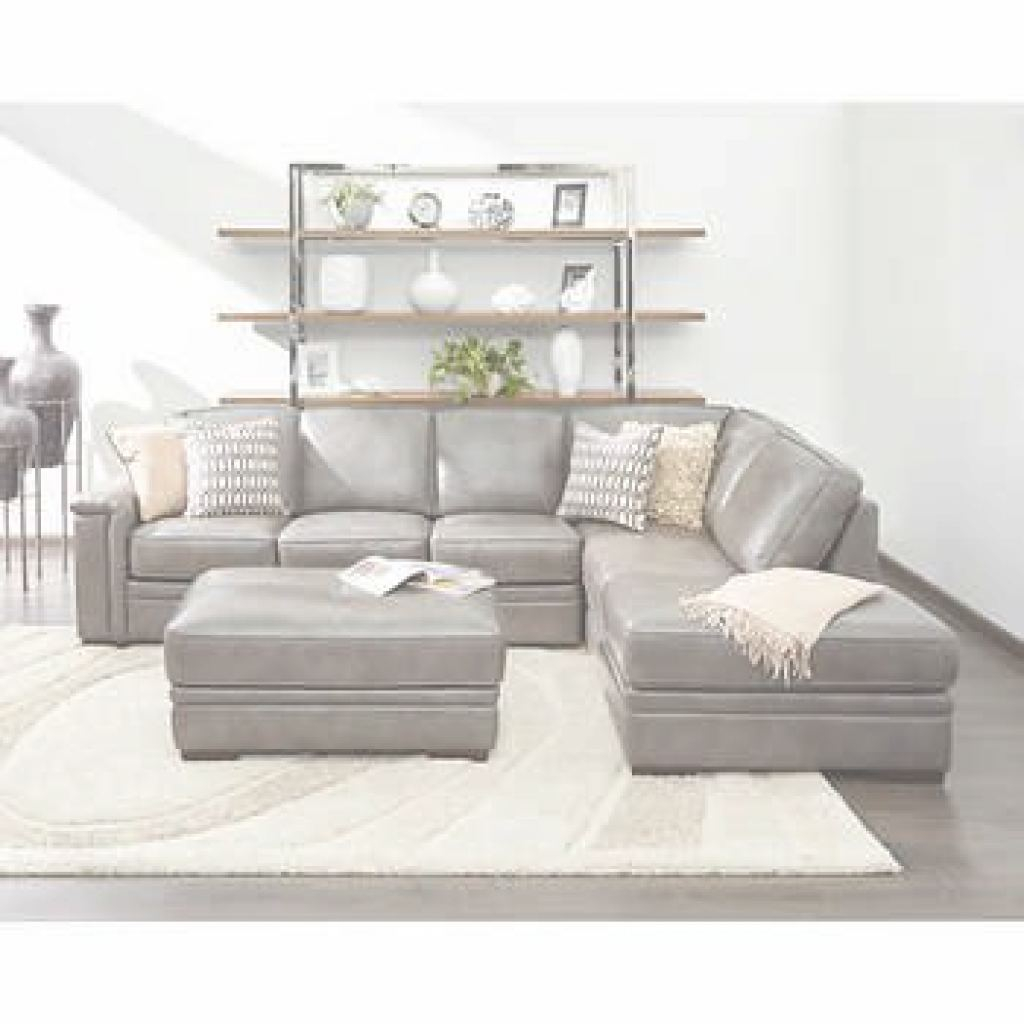 Grey Leather Sectional Elegante Interesting Gray Leather Sectional Sofa And Alandro Grey Top Grain