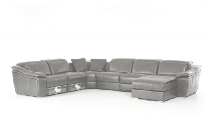 Grey Leather Sectional Tutoría