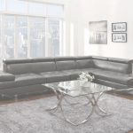 Grey Leather Sectional Inspirador Grey Leather Sectional Sofa   Steal A Sofa Furniture Outlet Los