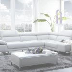 Grey Leather Sectional Único 1717 Leather Sectional Sofa In Light Grey Colorj&m Furniture