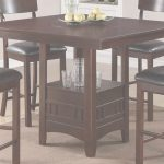 High Dining Table Encantador Dining Table With High Chairs Fair Poundex Furniture Piece Counter