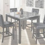 High Dining Table Genial Maysville Square Counter Height Dining Table And Stools Set