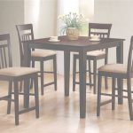 High Dining Table Hermoso Coaster Mix & Match 150041 5 Piece Counter Height Dining Set | Dunk