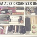 Ikea Utensils Divider Encantador Best Ikea Alex 5 Drawer Organizer Under $2   Youtube