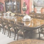 Large Dining Room Table Impresionante Huge Bespoke Handmade Marquetry Walnut Extending Dining Table 18
