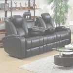 Leather Reclining Sofa Encantador Black Leather Power Reclining Sofa   Steal A Sofa Furniture Outlet