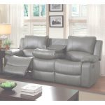 Leather Reclining Sofa Único Shop Furniture Of America Rembren Grey Bonded Leather Reclining Sofa
