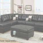 Leather Sectional Sofa Encantador Black Leather Sectional Sofa   Steal A Sofa Furniture Outlet Los