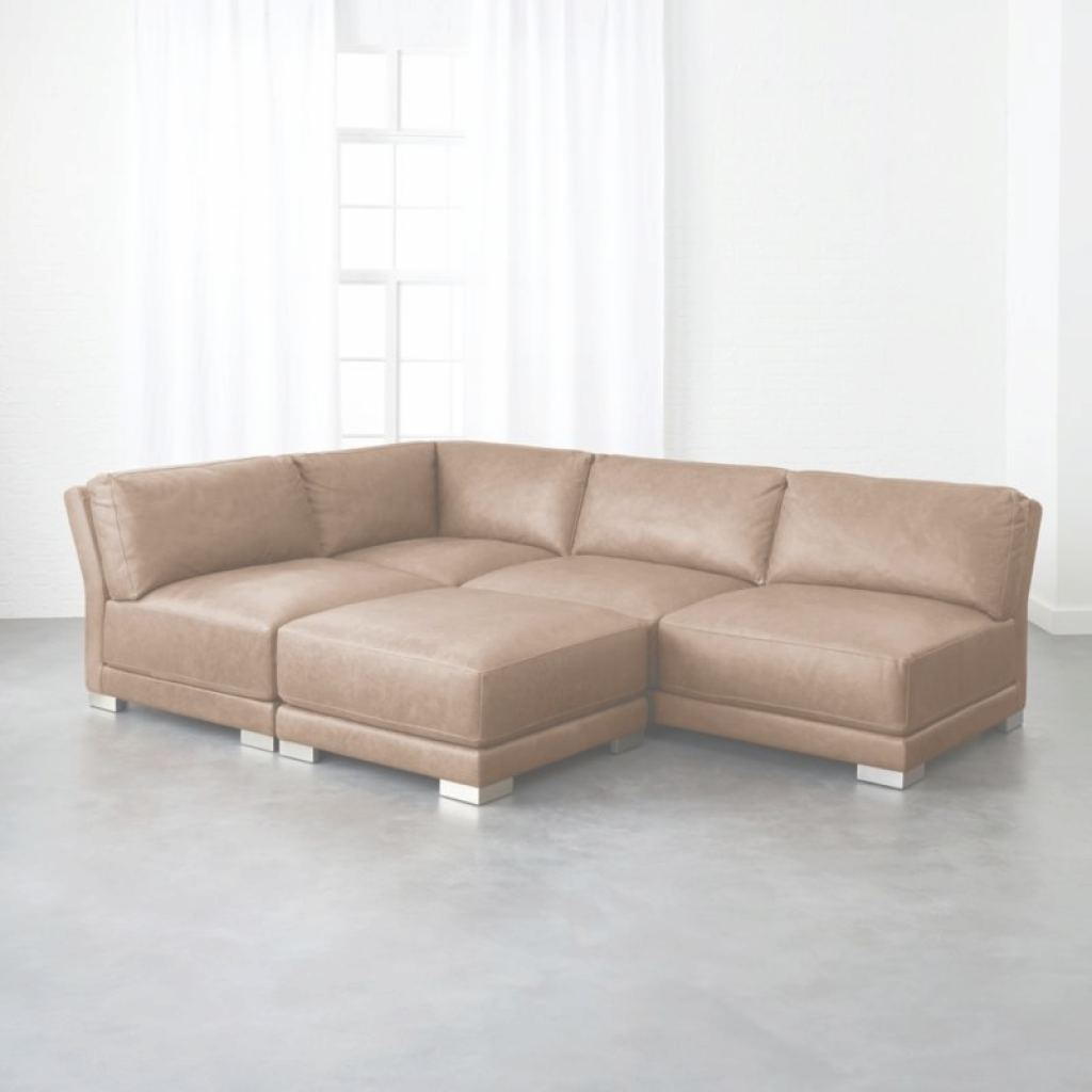 Leather Sectional Sofa Impresionante Leather Sectional Sofas | Cb2