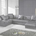 Leather Sectional Sofa Nuevo Omega Modern Black Leather Sectional Sofa | Sectionals