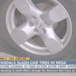 Mesa Tires Elegante Car Tires Slashed In Mesa Neighborhood, Police Asking For Public's