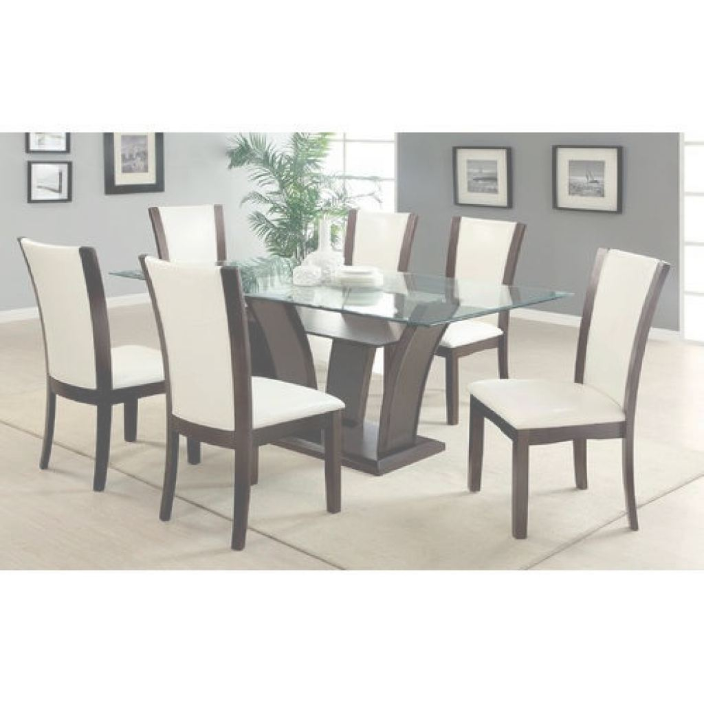 Modern Dining Table Elegante Brown, White 6 Seater Modern Dining Table, Rs 20000 /set | Id