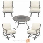 Outdoor Patio Furniture With Fire Pit Increíble Fire Pit Sets   Outdoor Lounge Furniture   The Home Depot