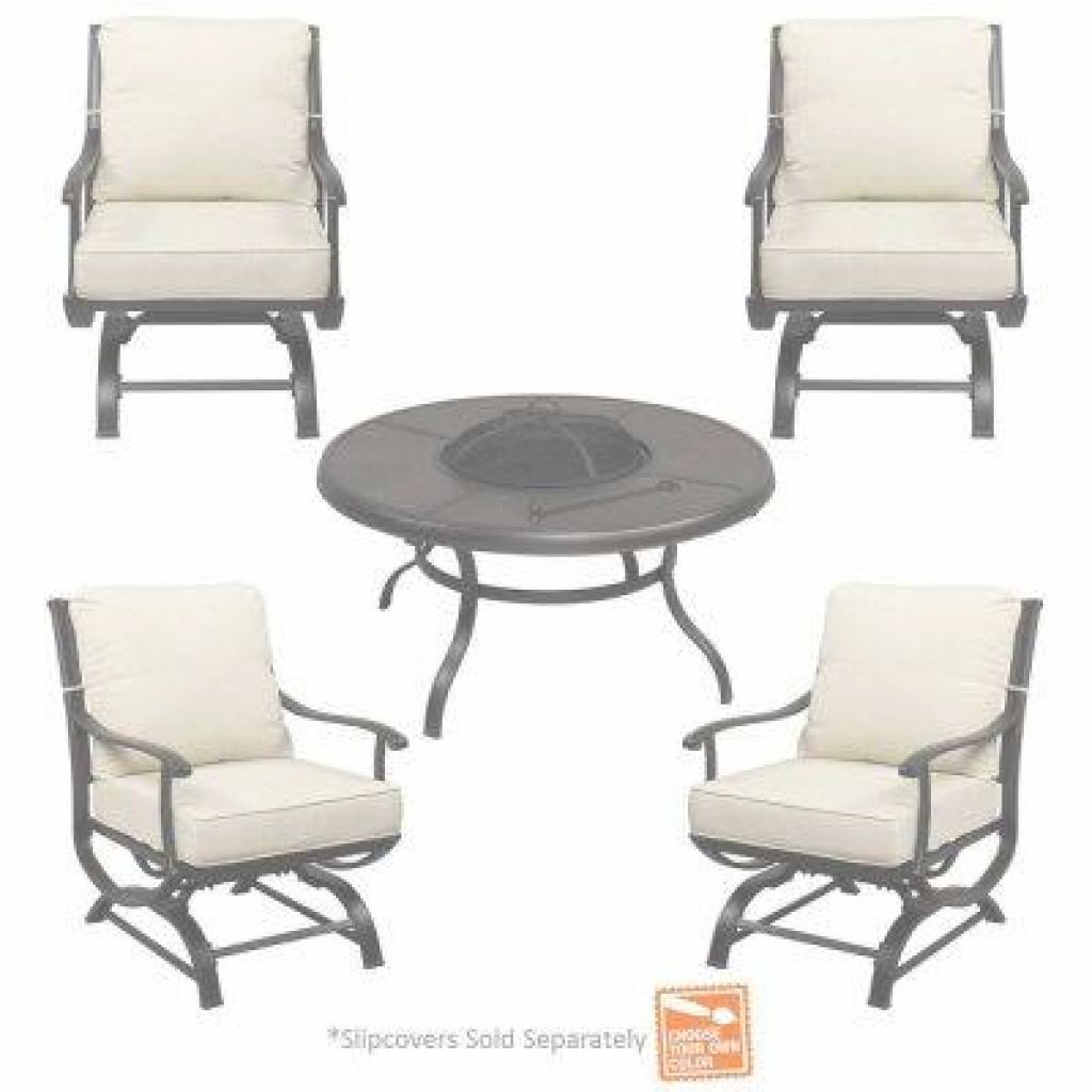 Outdoor Patio Furniture With Fire Pit Increíble Fire Pit Sets - Outdoor Lounge Furniture - The Home Depot