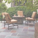 Outdoor Patio Furniture With Fire Pit Lujo Fire Pit Sets   Outdoor Lounge Furniture   The Home Depot