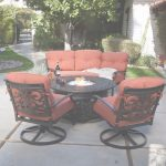Outdoor Patio Furniture With Fire Pit Nuevo 4 Piece Outdoor Patio Deck Furniture Set Round Table Gas Fire Pit 48