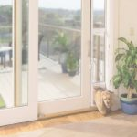 Patio Panel Pet Door Hermoso Petsafe Freedom Aluminum Patio Panel Sliding Glass Pet Door