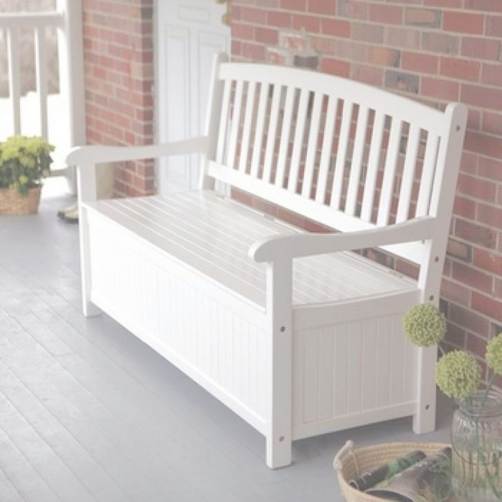 24 Impresionante Patio Storage Bench Tutoría