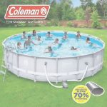 Piscinas De Tierra Nuevo Coleman Above Ground Pool With Sand Pump And Deck | Ebay