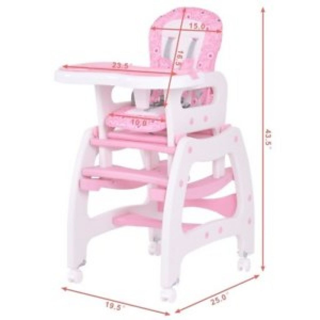 Silla Bebe Genial Silla De Bebe Costway Kids High Chair For Baby Girl Booster Seat For