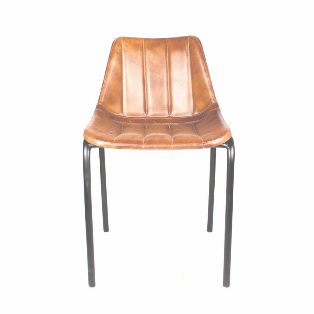 Silla Retro Wood Inspirador Chair Style Industrial Vintage Miws Leather Synthetic Retro Catering