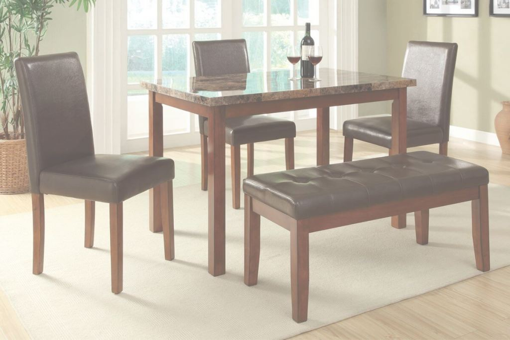 Small Dining Room Tables Mejor de 26 Dining Room Sets (Big And Small) With Bench Seating (2018)