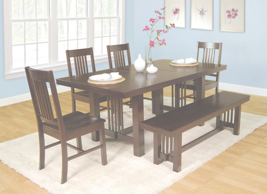 Small Dining Room Tables Moderno 26 Dining Room Sets (Big And Small) With Bench Seating (2018)