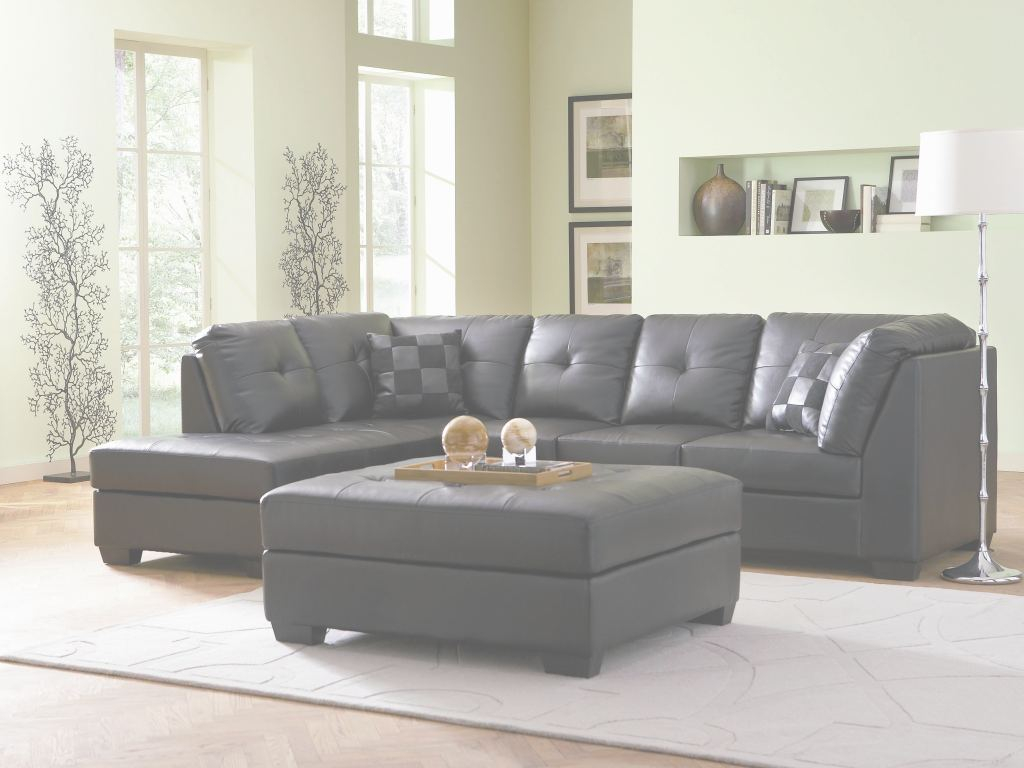 Small Leather Sectional Increíble Coaster Darie Leather Sectional Sofa With Left-Side Chaise | Value