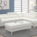 White Leather Sectional Elegante White Leather Sectional Sofa   Steal A Sofa Furniture Outlet Los