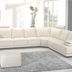 White Leather Sectional Hermoso White Leather Sectional 43 | Sectionals