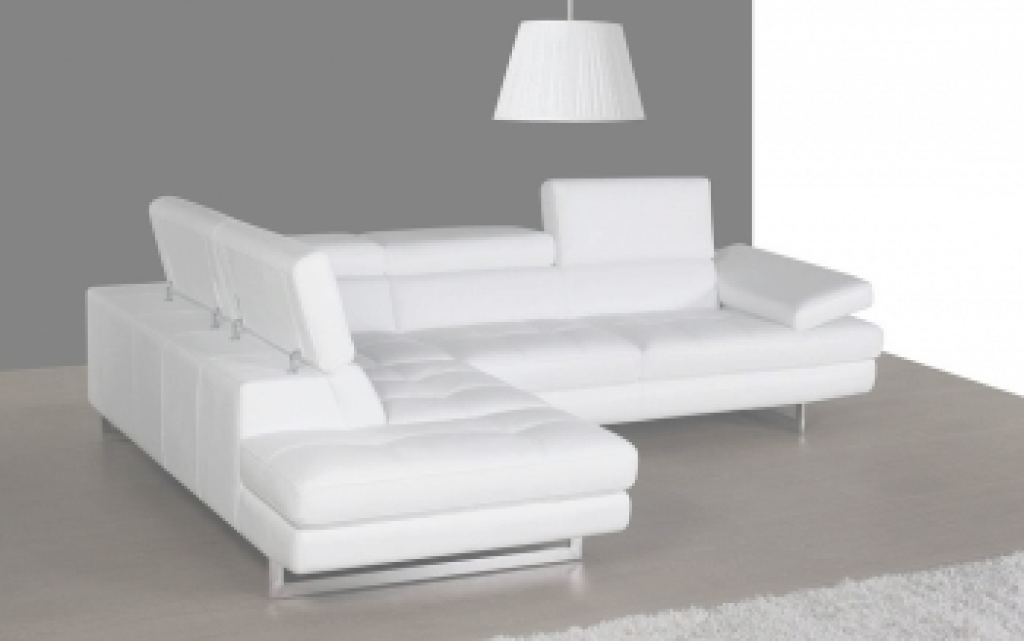 White Leather Sectional Increíble 100% Genuine Italian Quality Leather Sectionals. Corner Couches