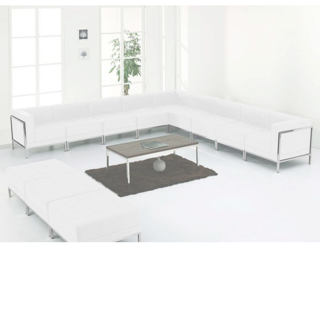 White Leather Sectional Lujo Flash Furniture Hercules Imagination Series White Leather Sectional