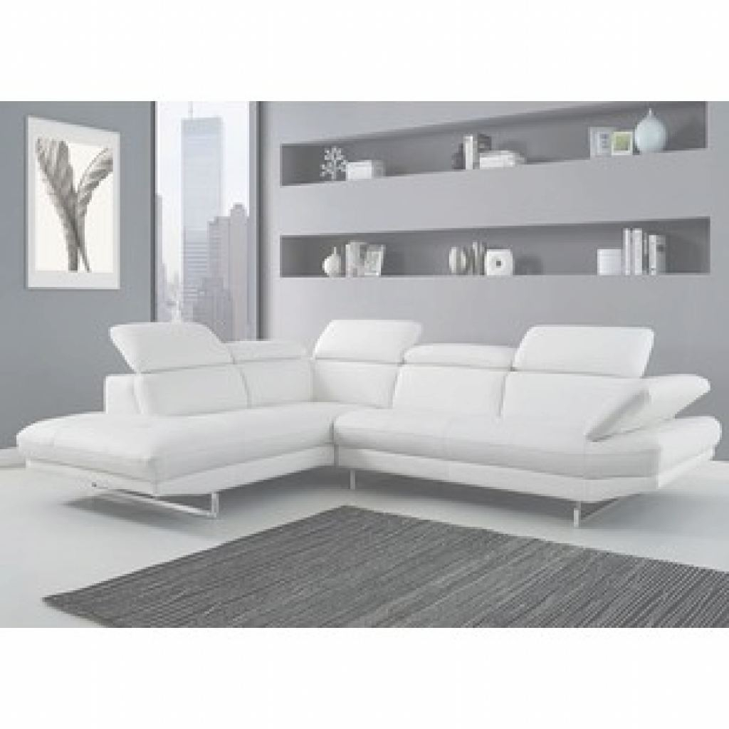 White Leather Sectional Moderno White Leather Sectionals You'll Love | Wayfair