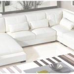 White Leather Sectional Único Dreamfurniture   Divani Casa Diamond Modern Bonded White Leather