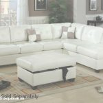 White Leather Sectional Único White Leather Sectional Sofa   Steal A Sofa Furniture Outlet Los